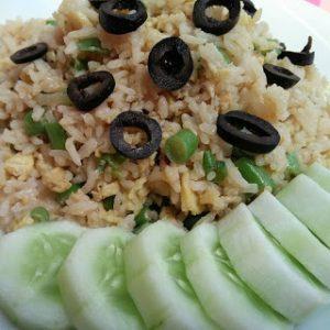 BIKIN SEHAT! Resep Nasi Goreng Buah Zaitun