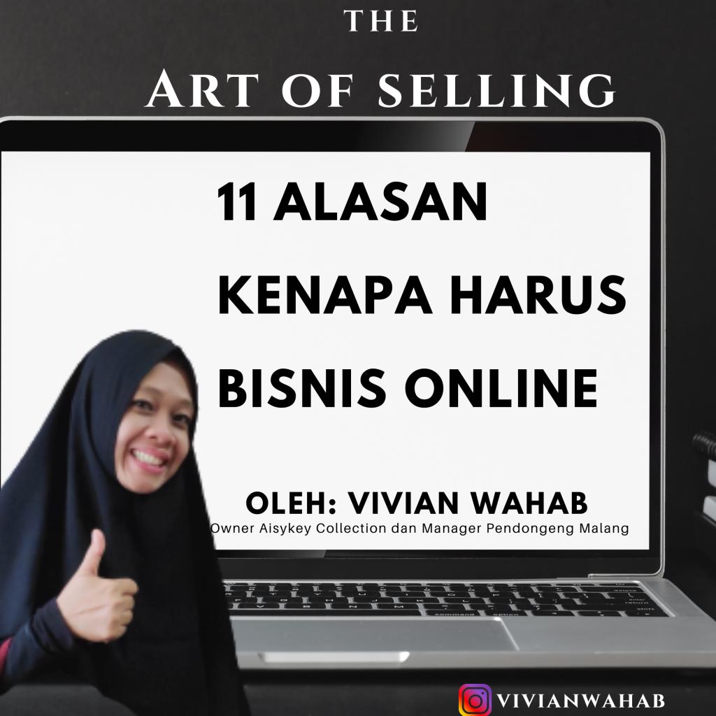 11 Alasan Mengapa Anda Harus Bisnis Online, Sekarang