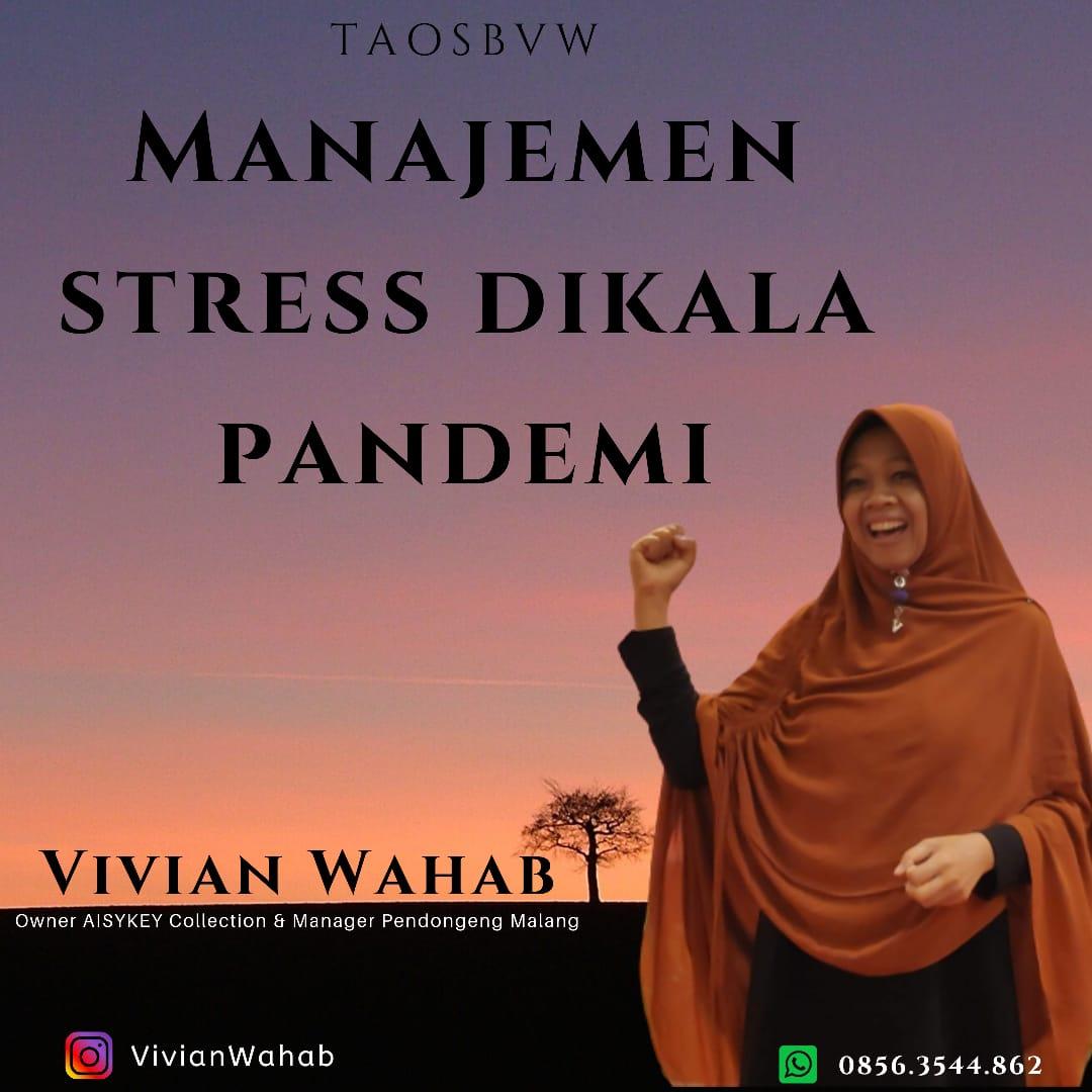 Inilah Cara Manajemen Stress dikala Pandemi