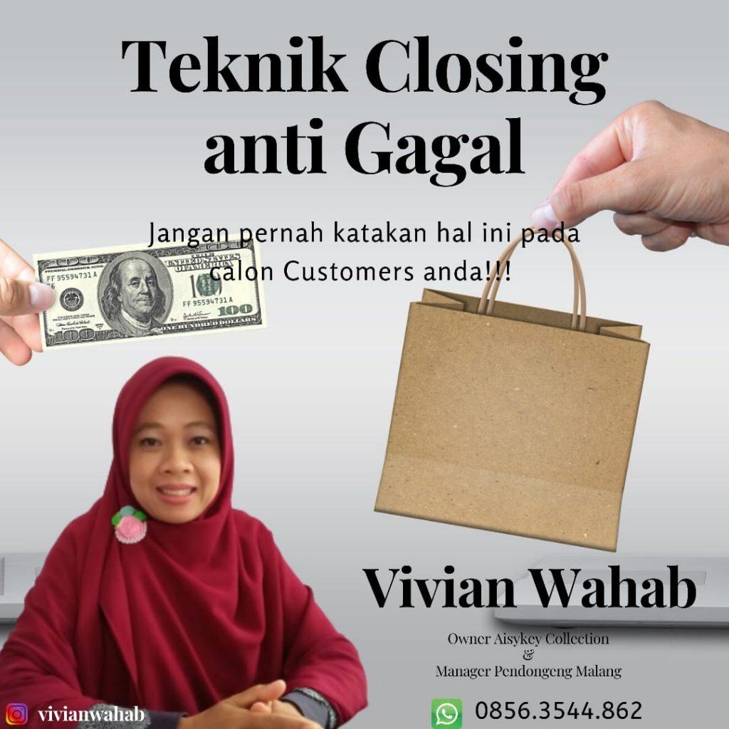 Teknik Closing Sales 99% Anti Gagal